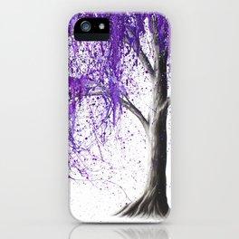 Violet Vale iPhone Case