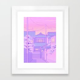 Kyoto Walk Framed Art Print