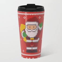 Merry Christmas from Santa Claus, ho-ho-ho! Travel Mug