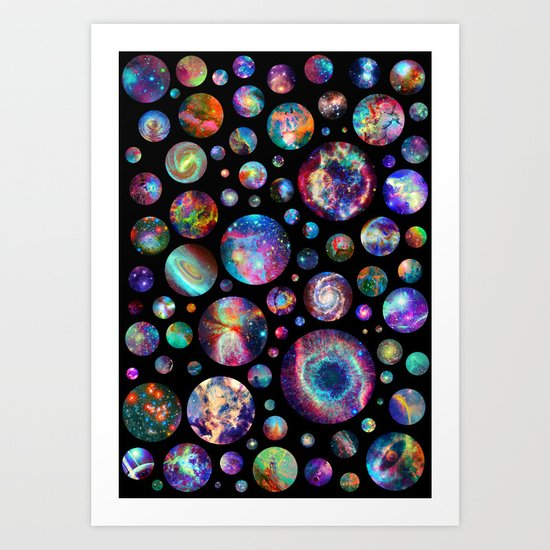 Bubbleverse Art Print