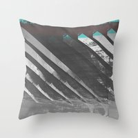 stockholm Throw Pillows featuring Stockholm by FABIAN•SMITH