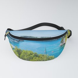 Calanques near Cassis in a summer day Fanny Pack