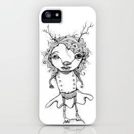 wild woman iPhone Case