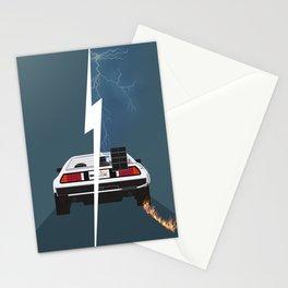 Back to the future / Delorean DMC-12 Stationery Cards