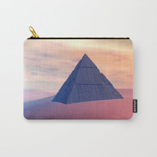 Ancient Pyramid In Desert Carry-All Pouch
