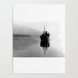Fjord ship Poster