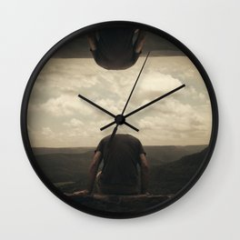 I'm Lost In Celebrating, I'm Not The Only One Wall Clock