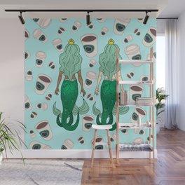 Star Butts Coffee Mermaids Wall Mural