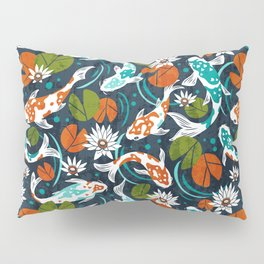 Koi Pond - Orange Pillow Sham