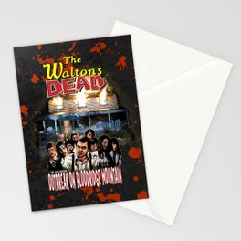 The Waltons Dead Stationery Cards