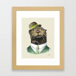 Sea Otter Framed Art Print