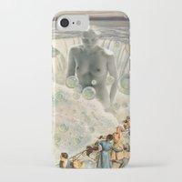 bath iPhone & iPod Cases featuring THE BATH by Julia Lillard Art