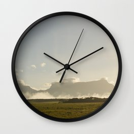 Gran Sabana Venezuela Wall Clock