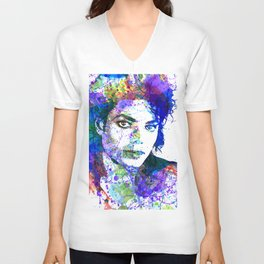 Michael Jacksons Unisex V-Neck