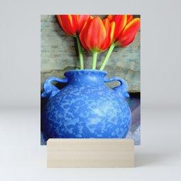 Elephantine Tulips Mini Art Print