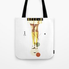 Cut The (...)   Collage Tote Bag