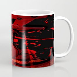 RED DIRTBIKE ENGINE Coffee Mug