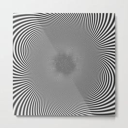 moire patterns II Metal Print