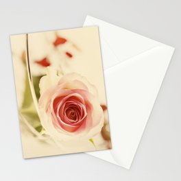 Rose for your big Love Stationery Cards