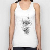bee Tank Tops featuring bee by DDDR