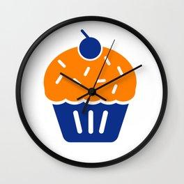 KD Cupcake Troll Wall Clock