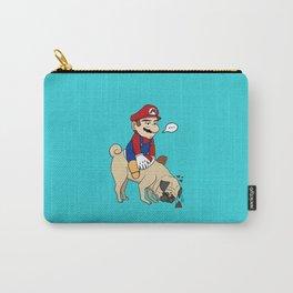 Super Mario Pug Yoshi Carry-All Pouch
