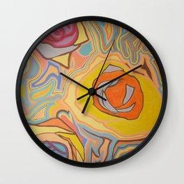 Bajo...el lapiz Wall Clock