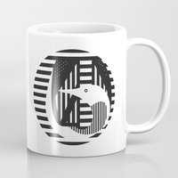 diver Mugs featuring diver by Gray