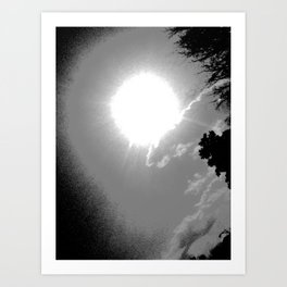 light repel the darkness Art Print