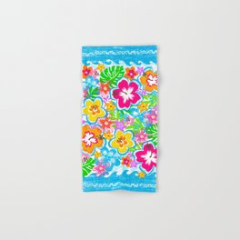 Tropical Floral Hand & Bath Towel