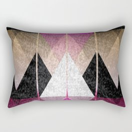 Tops of mountains Rectangular Pillow