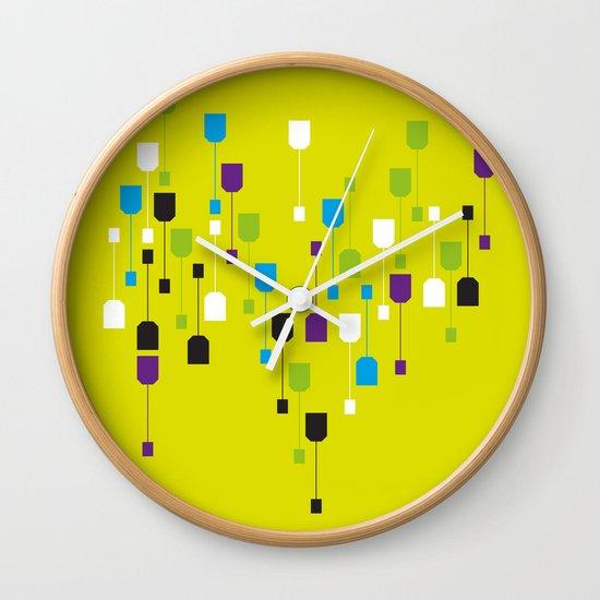 Tea World Wall Clock