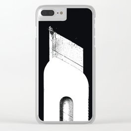 Who would have tought Clear iPhone Case
