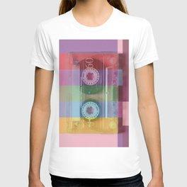 Cassette#tvcolor#VHS T-shirt