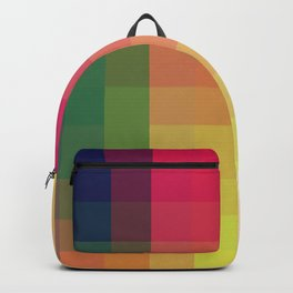 Trow - Colorful Decorative Abstract Art Pattern Backpack