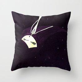 Moonless night Throw Pillow