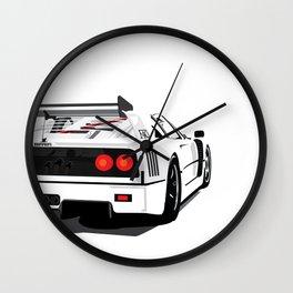 F40 Wall Clock