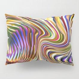 3 Dimensional Pinball Abstract Pillow Sham