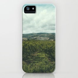 Vineyards, South of France iPhone Case