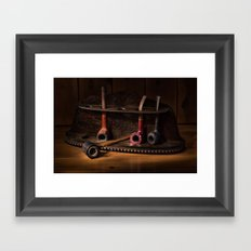 The Pipe Rack Framed Art Print