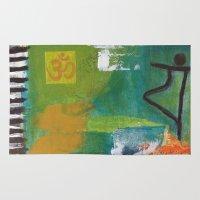 yoga Area & Throw Rugs featuring YOGA by Prema Designs