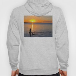 Wading in the Sunset Hoody