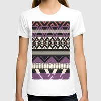 navajo T-shirts featuring navajo blanket by littlehomesteadco