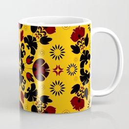 Fiesta Folk Yellow #society6 #folk Coffee Mug