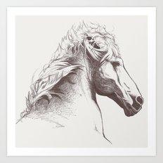 Cheval Art Print