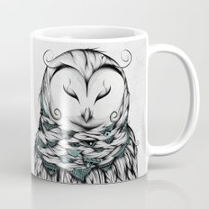 Poetic Snow Owl Mug