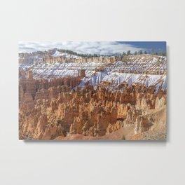 White Wall Metal Print