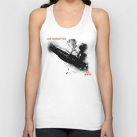 led zeppelin Tank Tops featuring LED GALACTICA by ClevaGurl