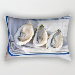 Oysters on Duxbury Bay Rectangular Pillow