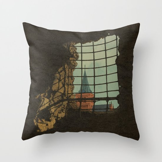 From A Castle Throw Pillow